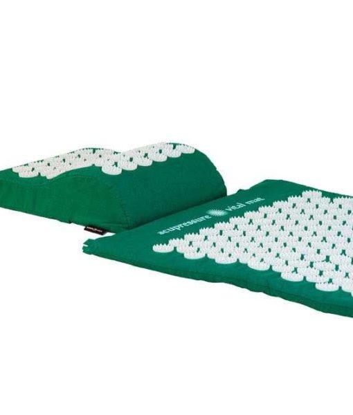 Akupunktuuri matt ja padi roheline