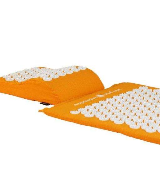 Akupunktuuri matt ja padi oranž